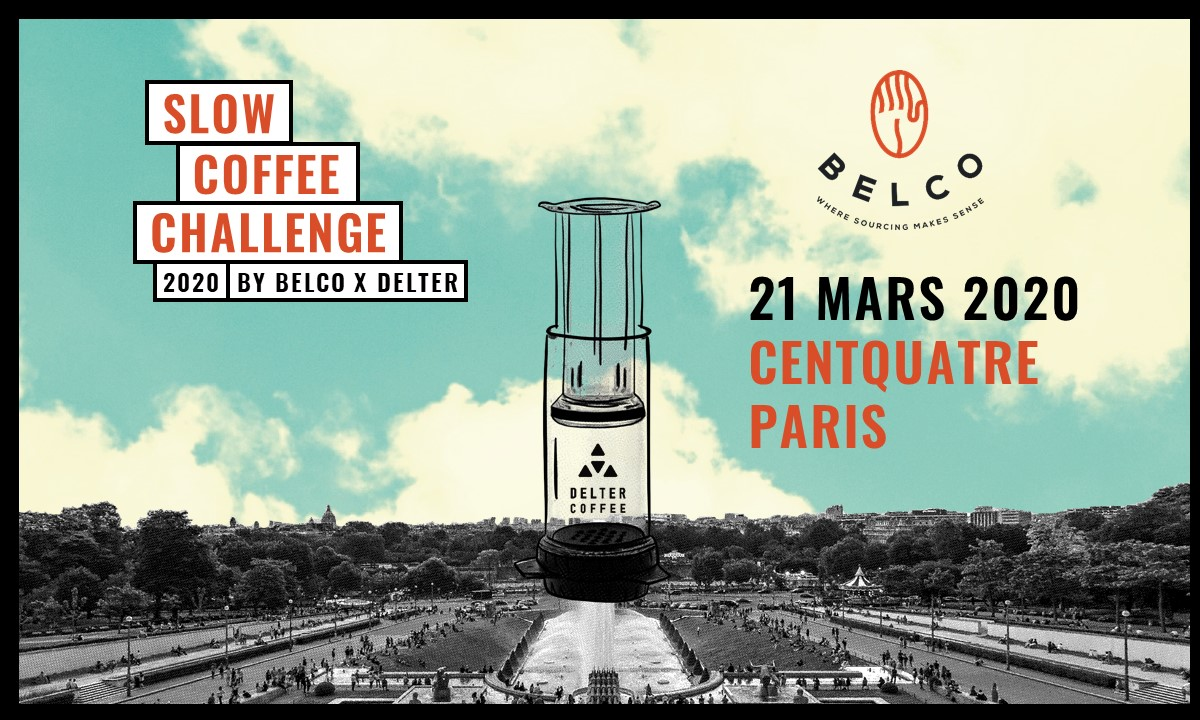 Slow coffee challenge 2020 by Belco x Delter